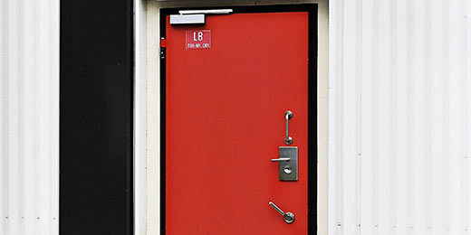 Security Door From The O·S·T® 2 Series. Burglary Resistant RC6 According To  EN 1627